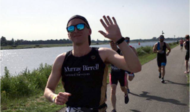 Ironman Jack helps to raise record £231,572 for homeless charity  - Image