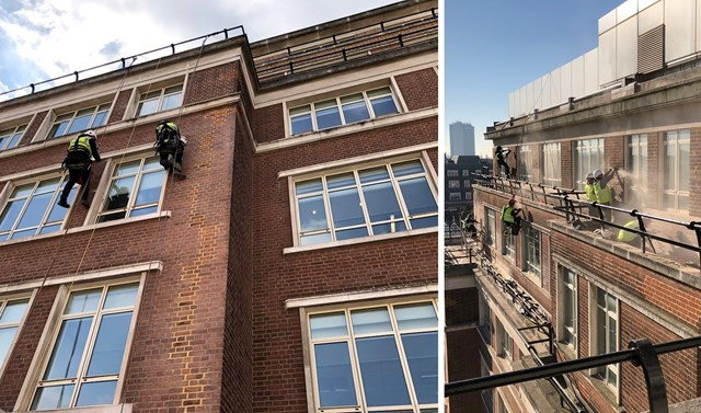 Time For A Rope Trick When Scaffolding Isn't The Solution - Image