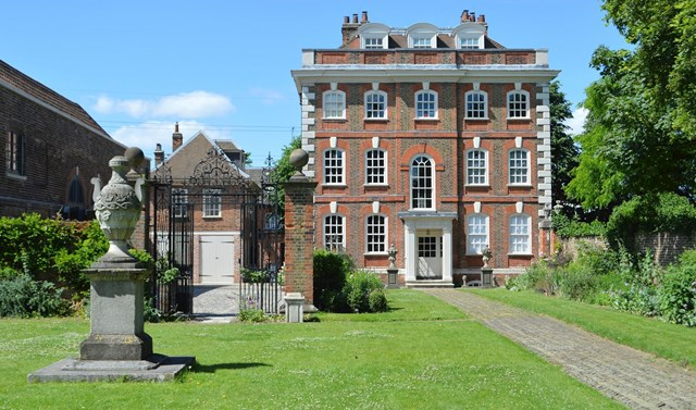 Filming a BBC Drama at Rainham Hall, a National Trust Property in East London - Image